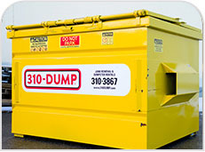 commercial dumpster rentals and bins