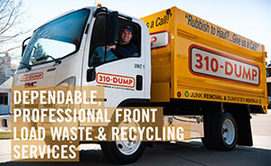310-DUMP Junk Removal, Dumpster Rentals, Waste and Recycling
